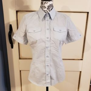New York and Co. Button Front Shirt